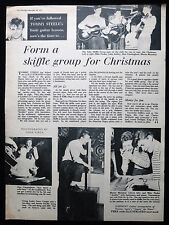 SOHO SKIFFLE GROUP MIKE NADEN GERRY COOPER MARTIN MONAHAN 1pp PHOTO ARTICLE 1957