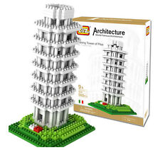 LOZ World Famous Architecture Leaning Tower of Pisa Model Building Blocks Toy F