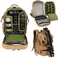 New Professional Camera Backpack DSLR SLR Camcorder Hike Travelling Shoulder Bag