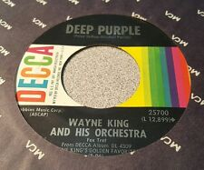 Wayne King And His Orchestra – True Love / Deep Purple