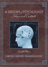 A History of Psychology : Ideas and Context by William Douglas Woody, D....
