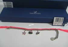Swarovski Hello Kitty Neon Bracelet, Star Cat face Crystal Authentic MIB 1175767