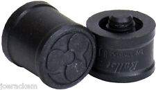 New Poison Logo BULLET Joint Protectors - 2 Piece set - Black - Protect Your Cue