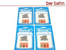 Roco H0 10500 / 10501 Weichenschalter 4 Stück (901) Neu