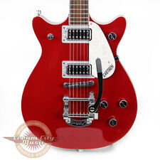 Brand New Gretsch G5441T Electromatic Double Jet Guitar Firebird Red Demo