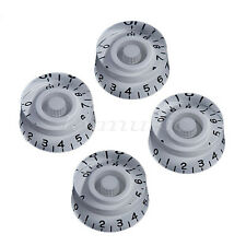 4 Pcs White Guitar Speed Control Knobs Knob for Gibson SG Replacement Parts