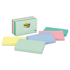 Post-it Notes Original Pads in Marseille Colors 3 x 5 100-Sheet 5/Pack 655AST
