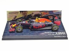 MINICHAMPS 1:43 Red Bull RB12 Max Verstappen #33 1st F1 WIN Spanish GP 2016