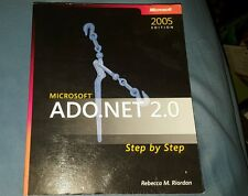 Microsoft ADO.NET 2.0 Step by Step (2005 Edition) Softcover