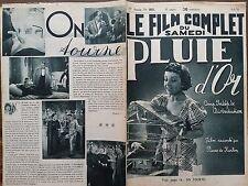 """LE FILM COMPLET 1936 N 1831 """" PLUIE D'OR """" avec JOCELYNE GAËL et JEAN WEBER"""
