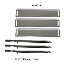 BBQ Grillware GGPL-2100 Replacement Grill Burners, Heat Plates-3pack