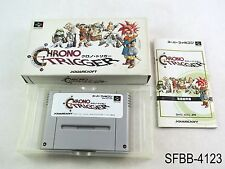 Complete Chrono Trigger Super Famicom Japanese Import CIB Boxed SFC US Seller B