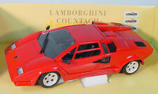 Lamborghini Countach ~ Polistil Tonka~ 1/18 Scale Die-Cast Car~ Displays Great