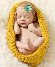 2014 lovely Baby Girls Boy Newborn Knit Crochet Clothes Photo Prop Outfits 0-8M