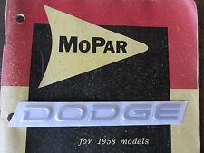 NOS 1990's Dodge DODGE Emblem Silver 1993 1995 1998 2000? Neon Stealth