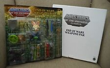 MASTERS OF THE UNIVERSE CLASSICS END OF WARS WEAPONS PAK W/ MAILER