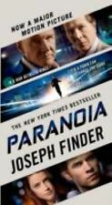 Paranoia by Joseph Finder (2013, Paperback) New