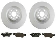 NEW Audi A8 Quattro 2004-2010 Front Disc Brake Rotors & Pads Kit High Quality