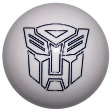 White w/ Black Transformer Autobot shift knob automatic M8x1.25 thd U.S MADE