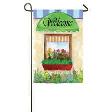 """House Garden Suede Flag 12.5"""" X 18"""" """"Fresh Flowers"""" from Evergreen Sealed"""