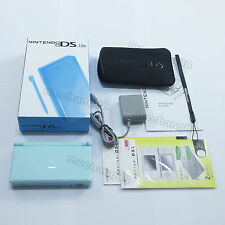Ice Blue Nintendo DS Lite HandHeld console System +gift
