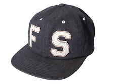Fourstar Block Applique Sample Cap Denim Blue - one size