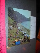 South Korea Camp Place at Hongdo Beach People sexy boat shore coast tourist RARE