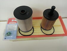 VW Golf MK5 1.9TDi 1896cc Oil Air Fuel Filter Sump Plug  Service Kit 2006-08