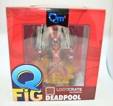 Marvel Deadpool Quantum Mechanics QMx Q-Fig Miniature Action Figure Figurine NIB