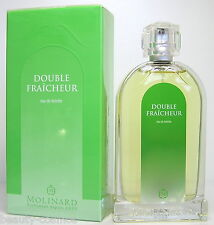 Molinard Double Fraicheur 100ml EDT Spray Neu OVP