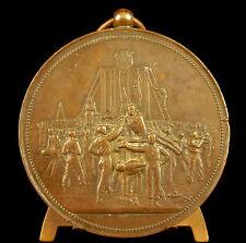 Médaille gymnastique le beau le vrai le bien André Clary 1908 Vernon sport medal