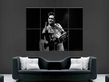 Johnny Cash Música Cantante Actor Leyenda Arte Pared Imagen Grande Poster Gigante