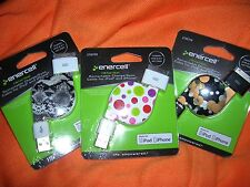 Enercell iPhone iPod Retractable Charger x3