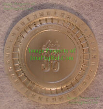 Lucky 38 Platinum Poker Chip from Fallout New Vegas Collector's Edition UNUSED