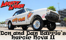 """DECALS - Dan and Don Barrie's Nova II """"Mighty Mouse"""""""