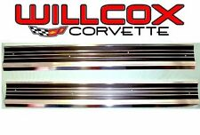 68-77 Corvette Sill Plate Set Correct Reproduction
