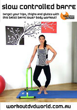 Barre Ballet EXERCISE DVD - Slow Controlled Barre Lower BARLATES BODY BLITZ!