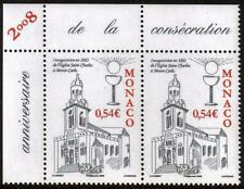 MONACO MNH 2008 The 152th Anniversary of the Opening of the The Saint Charles Ch