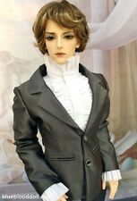 1/3 bjd 70cm male doll clothes outfit set grey suit Luts SSDF Loongsoul