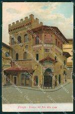 Firenze Città PIEGA cartolina XB2934