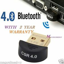 [Upgraded Version] GadgetsAccessories Mini USB Bluetooth CSR v4.0 For PC/LAPTOP