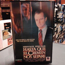 HASTA QUE EL CRIMEN NOS SEPARE (Dick Lowrry) VHS . Meredith Baxter Stephen Colli