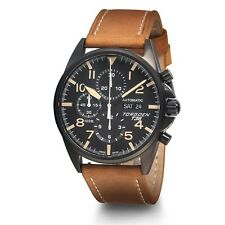 New Torgoen T36 Men's LE Swiss Valjoux 7750 Automatic Chronograph Pilot Watch