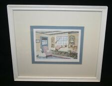 "Helen Downing Hunter Signed Print ""Country Crystal Pane"""