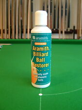 ARAMITH 1G MATCH SNOOKER POOL & BILLIARD BALL RESTORER/CLEANER inc-Chalk Holder