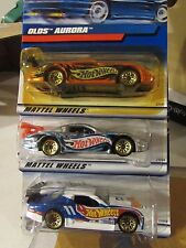 Hot Wheels Lot of (3) Olds Aurora, GT3, GTS-1 Types!! All different