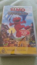 THE ADVENTURES OF ELMO  IN GROUCHLAND -SESAME STREET MOVIE - VHS VIDEO
