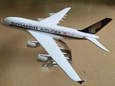 20CM Solid SINGAPORE AIRLINE A380 Passenger Plane Airplane Metal Diecast Model
