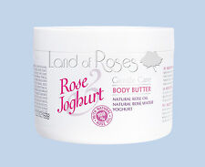 ROSE JOGHURT BODY BUTTER WITH NATURAL BULGARIAN ROSE OIL AND YOGHURT