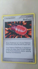 PlusPower Pokemon Card UNCOMMON Trainer [2]